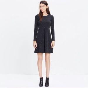 Madewell Marled Gia Ponte Knit Dress 10